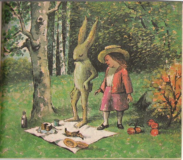 Mr. Rabbit and the Lovely Present, by Maurice Sendak (one of my favorites)
