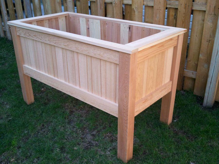 The Innovative Raised Planter Box Design Garden Box Plans Garden ...