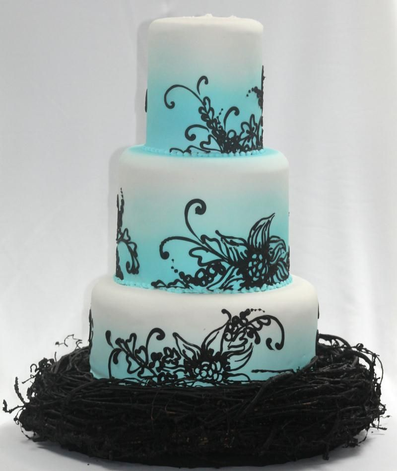 Beautiful With The Airbrushing Airbrush Cake Cake