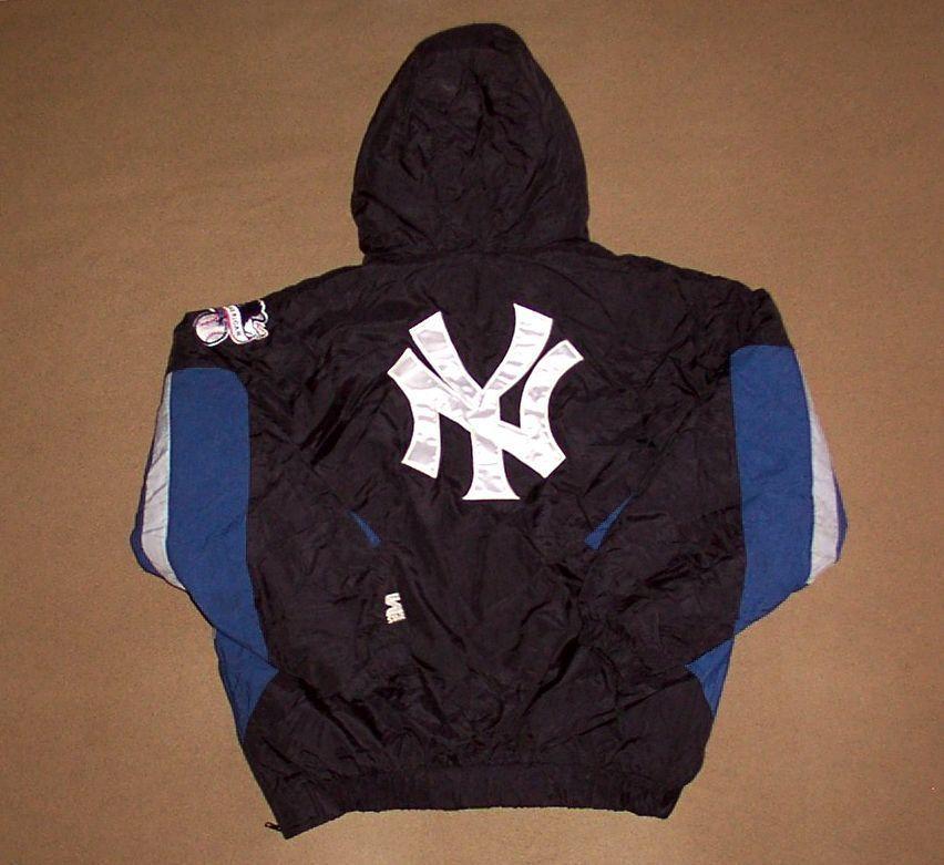 VINTAGE New York Yankees JACKET Starter BASEBALL Large PARKA
