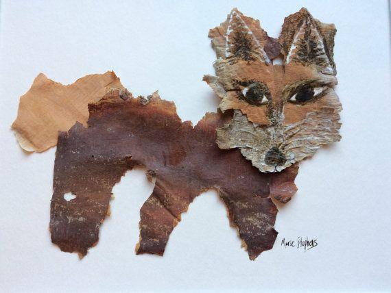 Fox Print Animal Art Prints Brown Wall Decor 8 by MarieStephensArt
