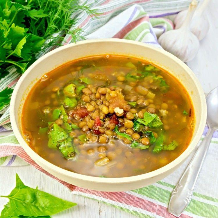 شوربة العدس بالخضار للرجيم مطبخ سيدتي Recipe Lentil Soup Easy Lentil Soup Easy Meal Plans