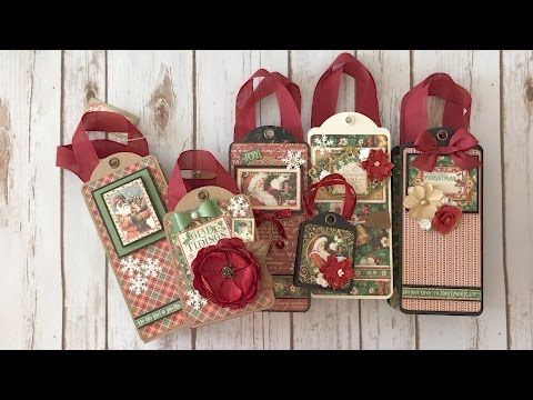 Graphic 45 St. Nicholas Gift Bags – My Sisters Scrapper | my pins ...