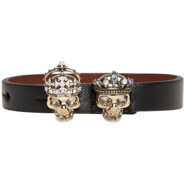 Queen leather bracelet Alexander McQueen QvwKW