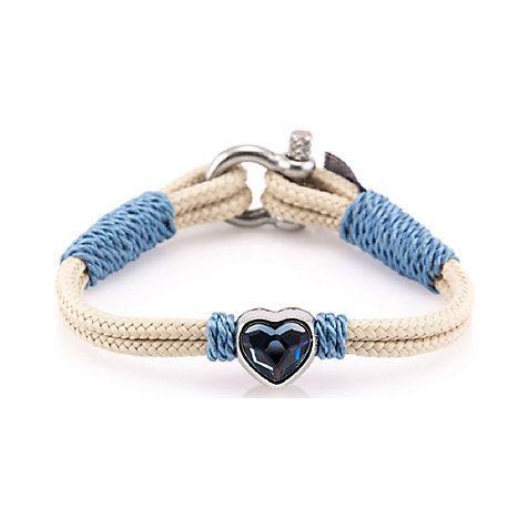 Thomas Sabo Women-Bracelet Little Secrets 925 Sterling silver blue LS021-378-31-L20v H1nmMkLmk