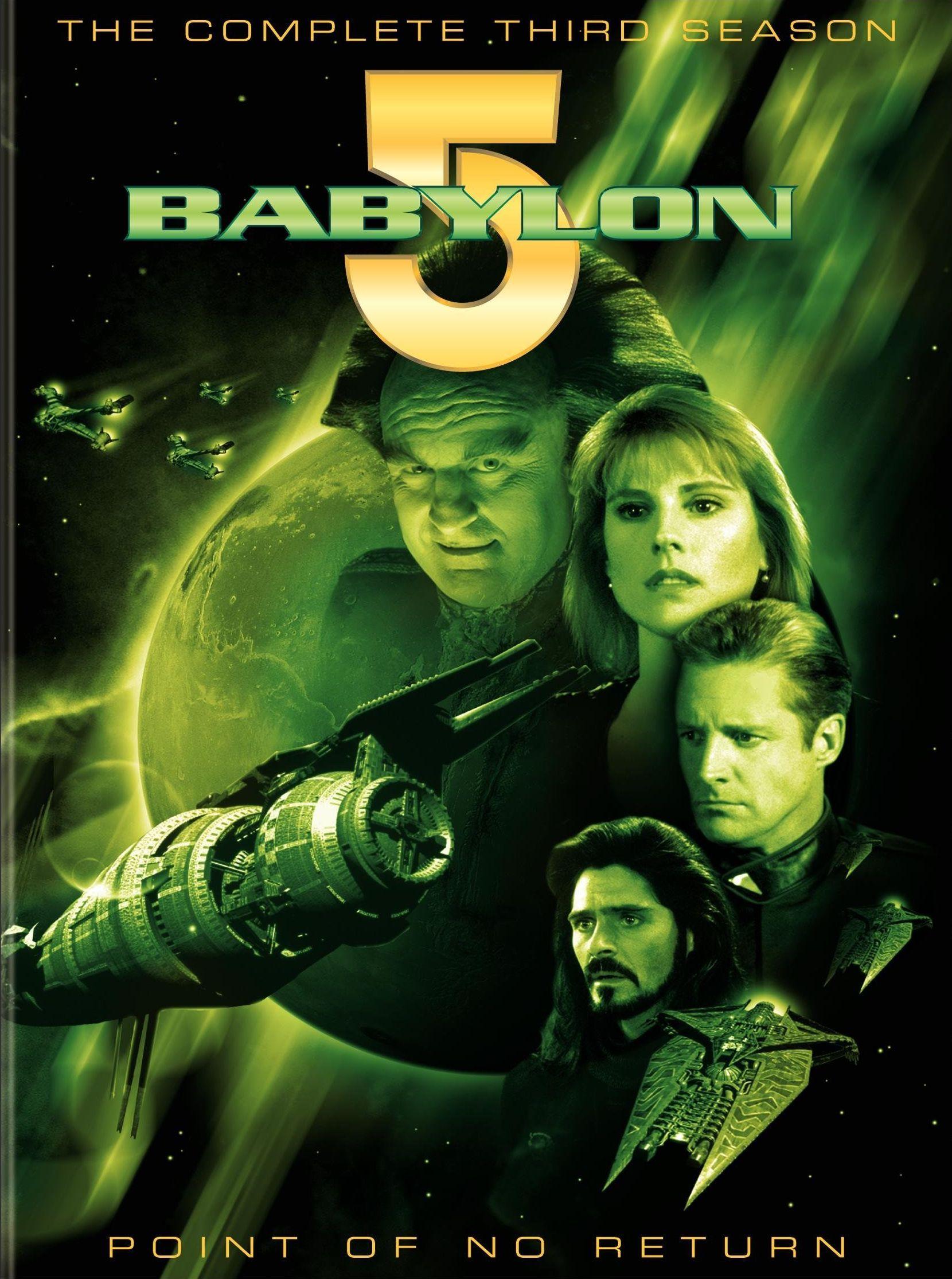TV on DVD Review Babylon 5 Season 3 Babylon 5, Old