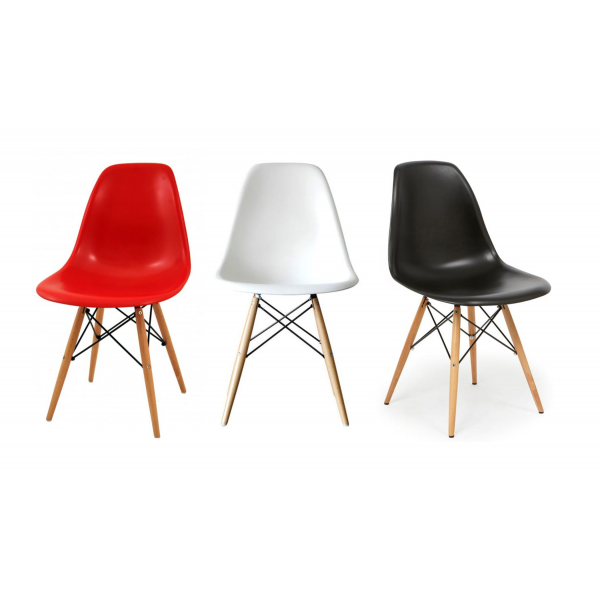 Sedie soggiorno moderne in polipropilene modello DSW. Sedie moderne ...