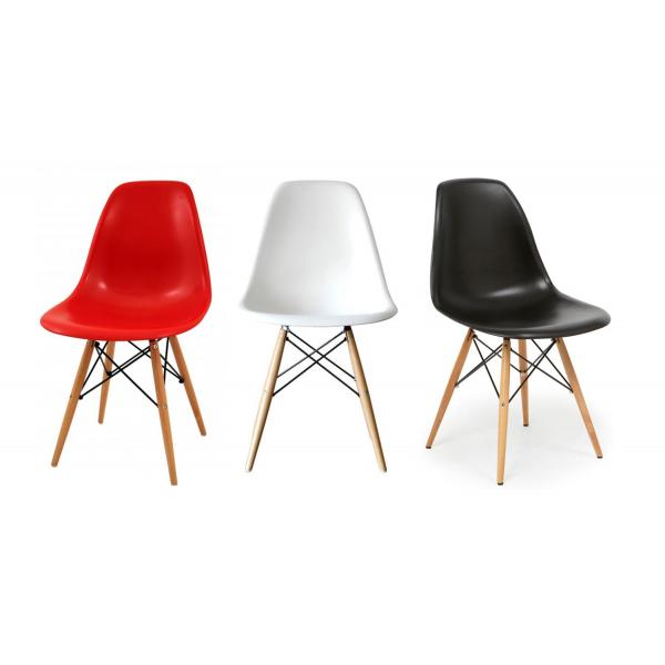Sedie soggiorno moderne in polipropilene modello dsw for Modelli sedie cucina