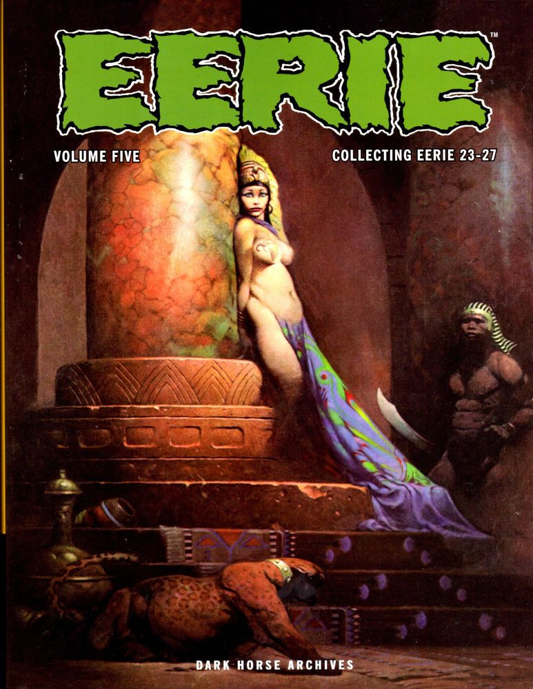 EERIE ARCHIVES Volume #5 by Dark Horse  2010 HC 1st Edition