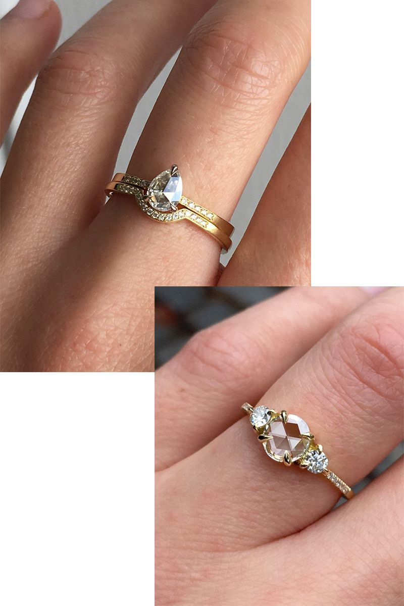 20 of etsys most beautiful wedding and engagement rings