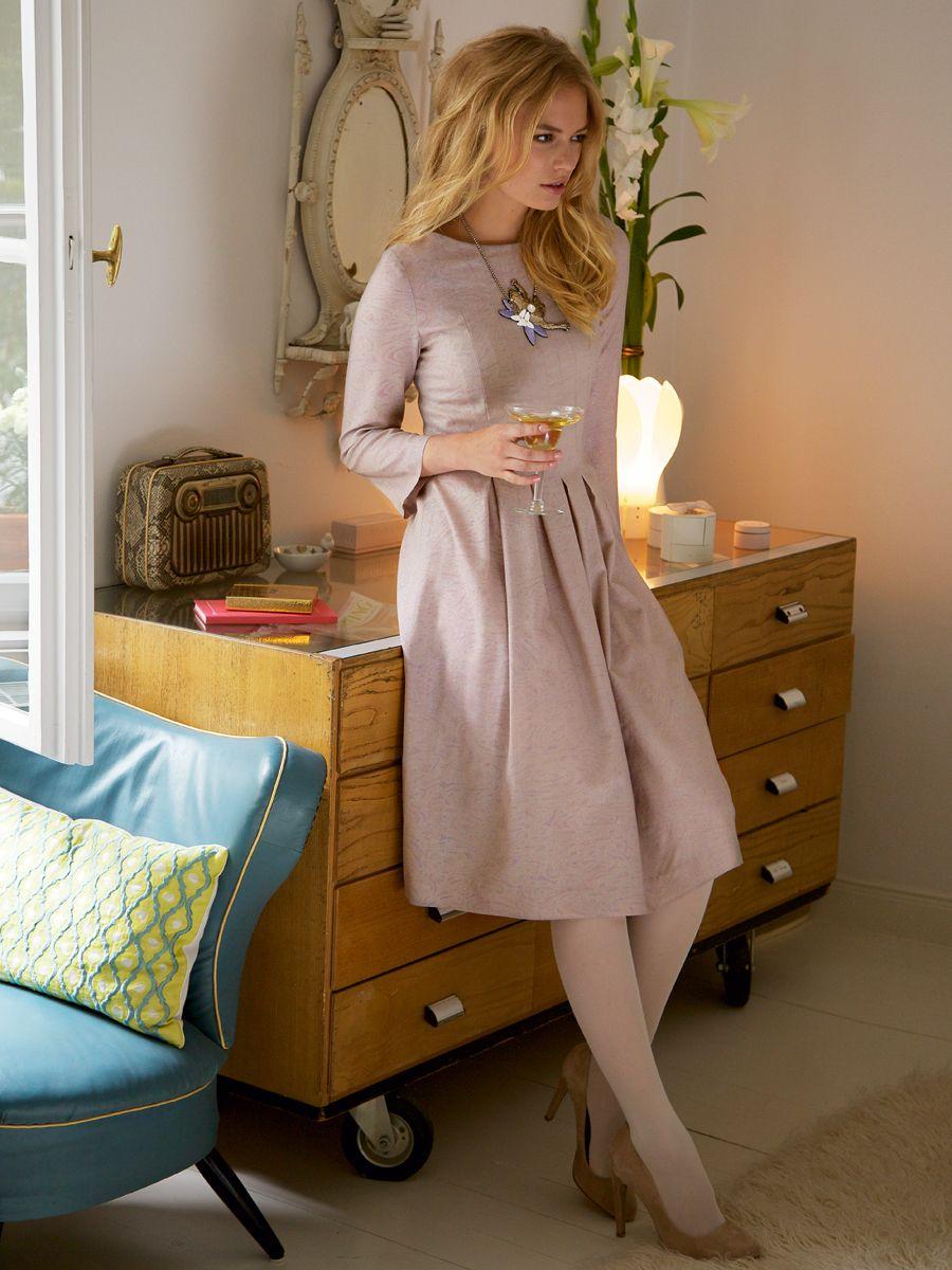 burda style, Schnittmuster, Kleid 10/2012 #108B, Das knieumspielende ...