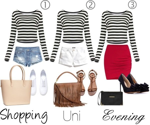 Ways to wear : stripes