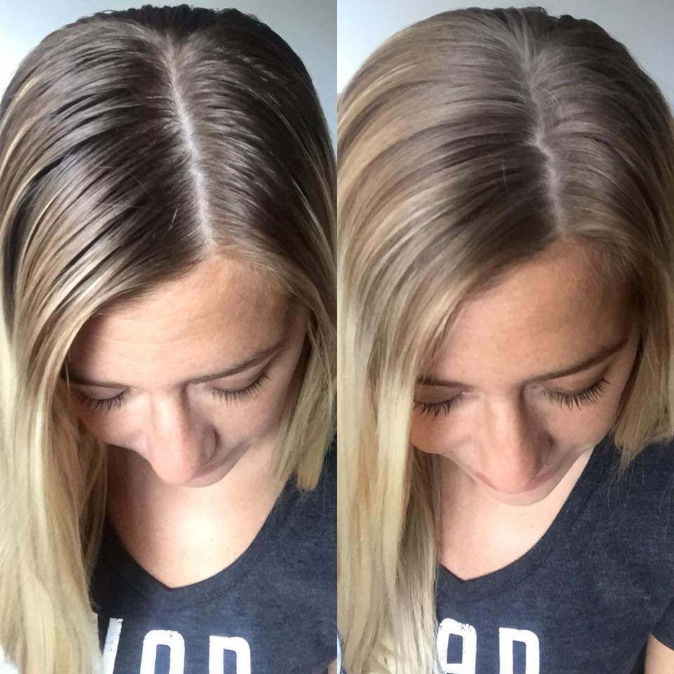 Before And After Monat Dry Shampoo Hairstyles Monat Dry Shampoo Greasy Hair Hairstyles