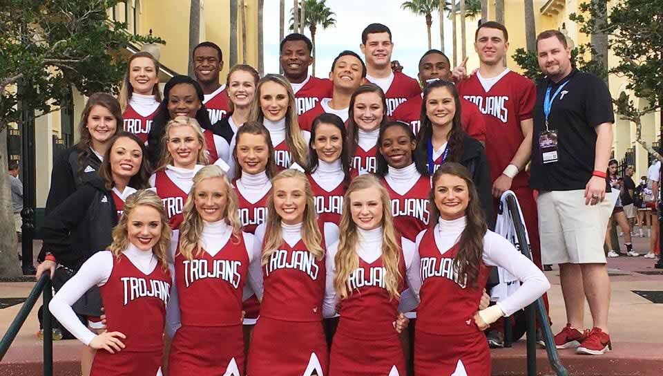 Uca Nationals Trojans Pick Up Fourth Place Finish In Orlando Cheerleading Team Womens Soccer Volleyball Team
