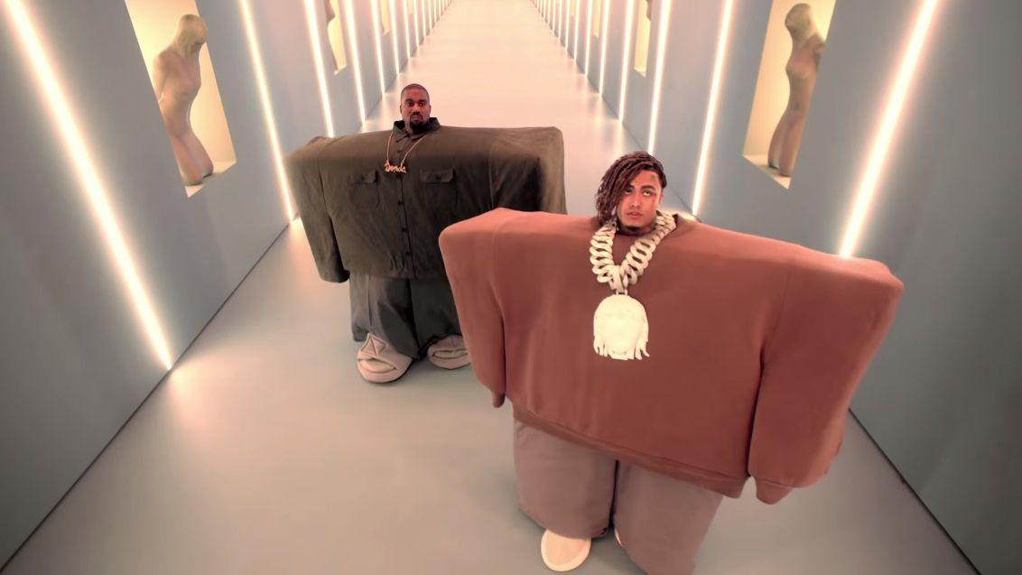 Kanye West Lil Pump Ft Adele Givens I Love It Video Lil Pump Roblox Memes Kanye West