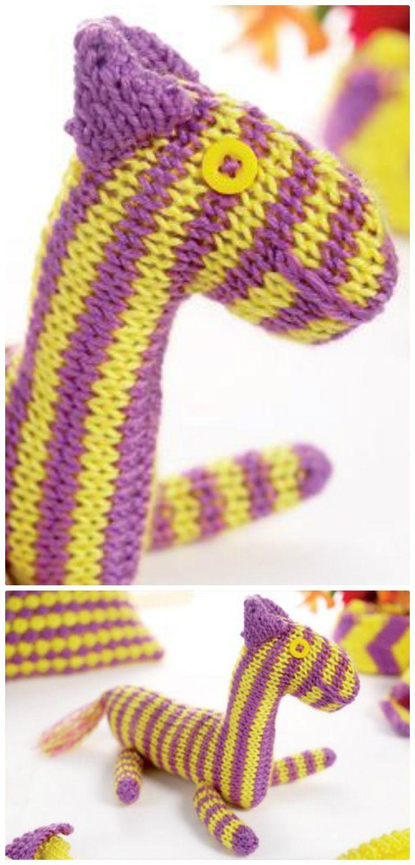 26 Free Crochet Zebra Patterns / Hat, Blanket, Amigurumi | Pinterest