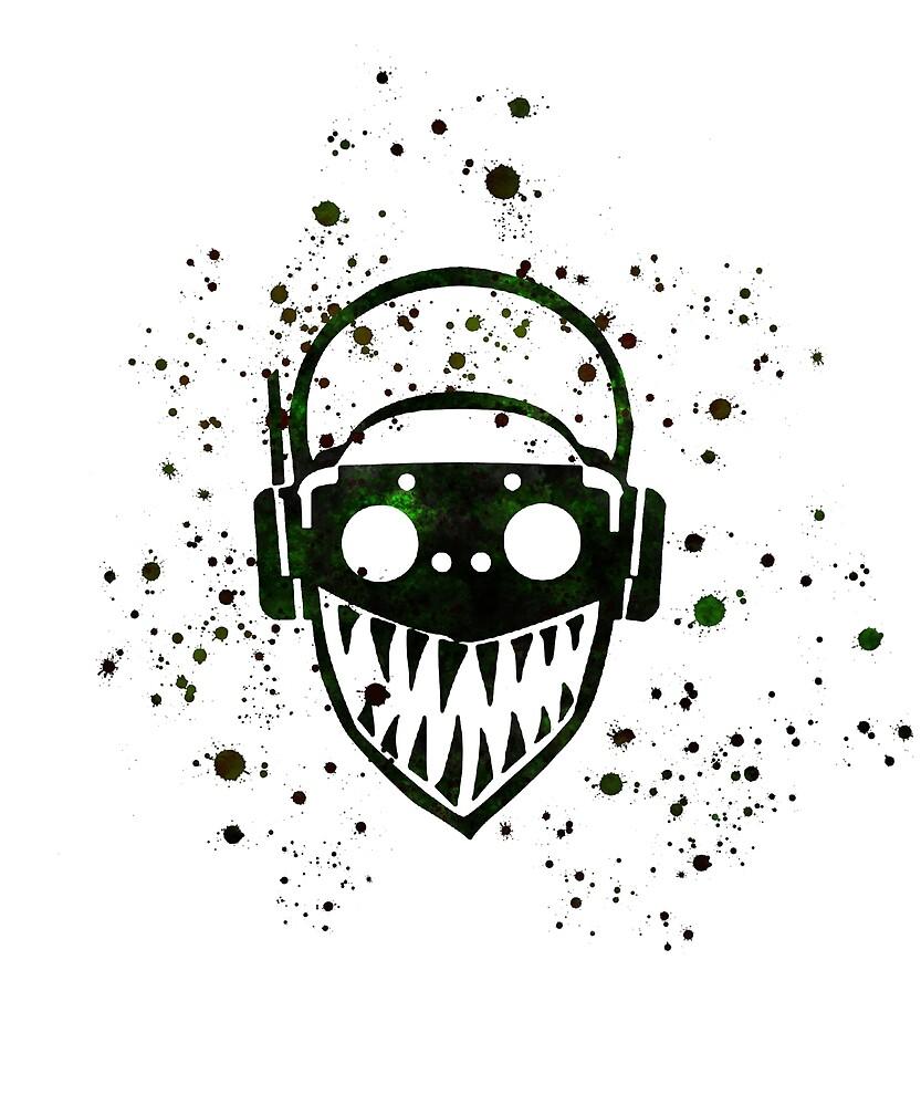 Apex Legends Octane Logo Icon Splatter By Blackworkz Redbubble Logo Icons Anime Gifts Geeky Gift