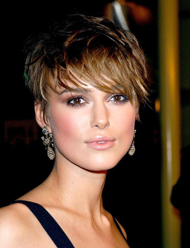 pixie keira knightley cheveux courts coiffures courtes. Black Bedroom Furniture Sets. Home Design Ideas