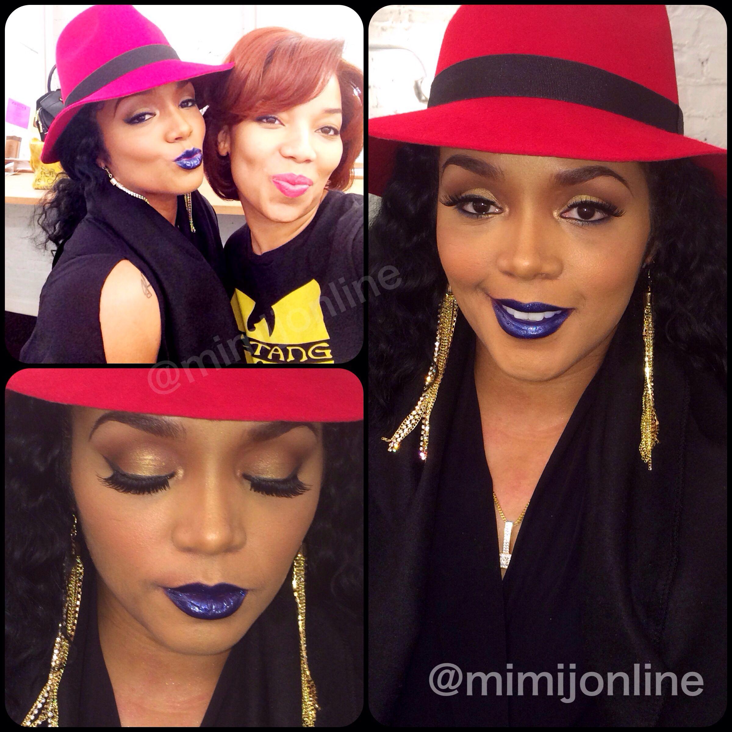 Rasheeda Frost and makeup artist Mimi J Celeb/TV makeup