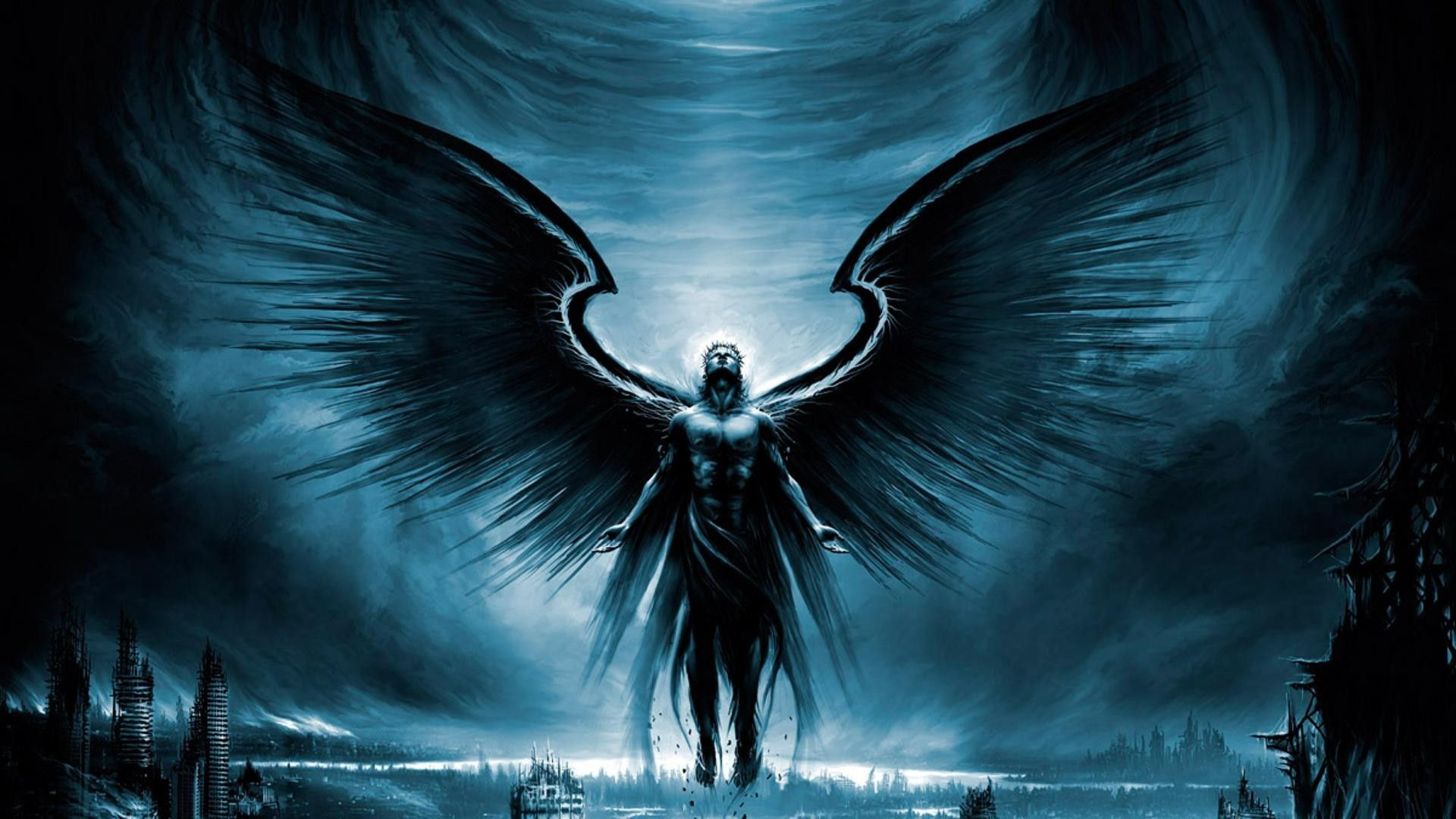 Angels Could Look Like This Dark Angel Wallpaper Angel Pictures Angel Wallpaper