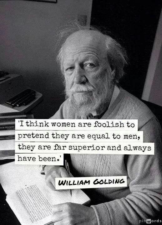 Finally, a man understands!