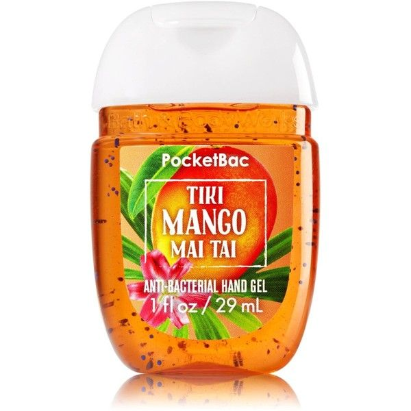Bath Body Works Pocketbac Hand Gel Sanitizer Tiki Mango Mai Tai