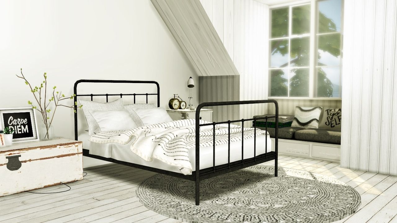 MXIMS — Teyon Bed Merged with base mattress 12 Swatches