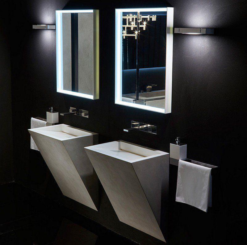 Vasque design pour les salles de bains modernes\u201335 modèles