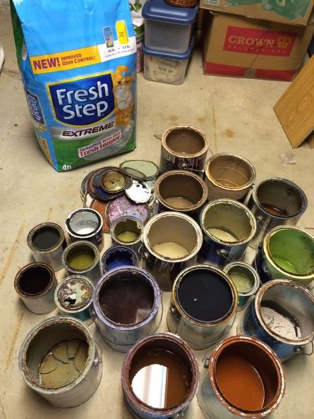 How To Dry Out Old Paint For Disposal Disposing Of Paint Paint