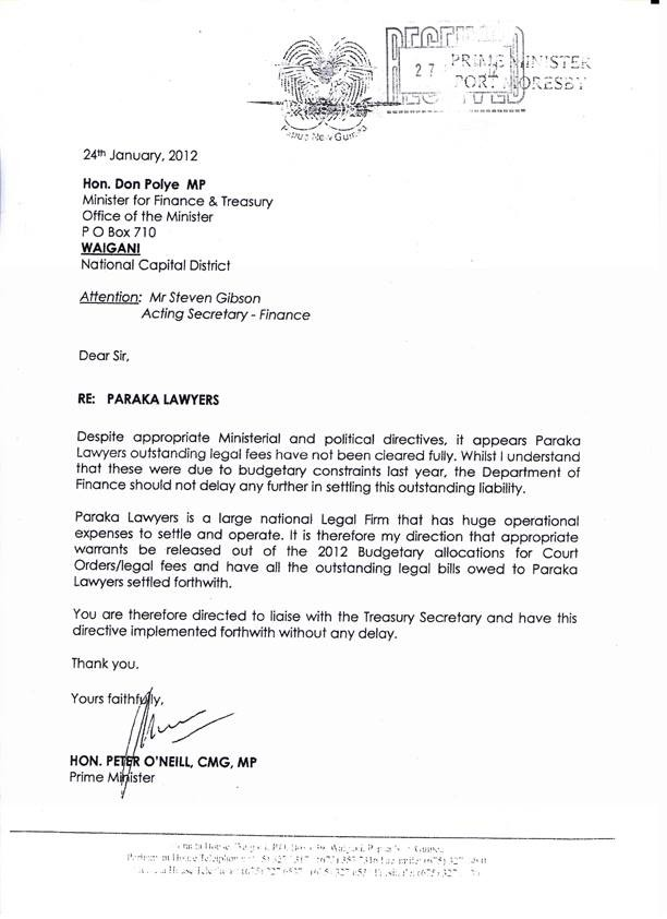 Sample Letter Of Pawn Agreement