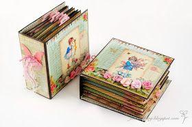 Joanna Krogulec: Mini Albumy / Mini Albums Prima Paper Used
