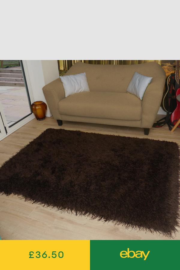 Rugs Home Furniture Diy Ebay Brown Carpet Brown Rug Large Carpet