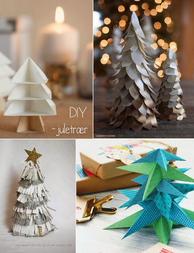 Paper Christmas Trees DIY Christmas ++ Pinterest Christmas