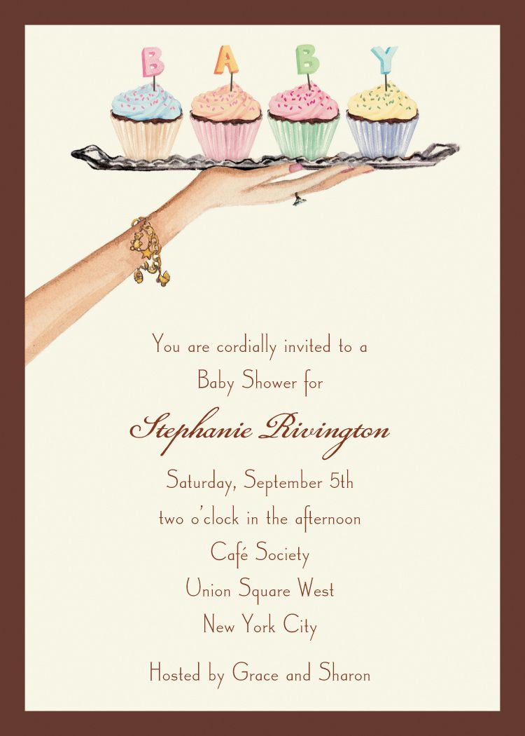 Bonnie Marcus Collection BMC ABI and BABY SHOWER INVITATIONS, BABY ...