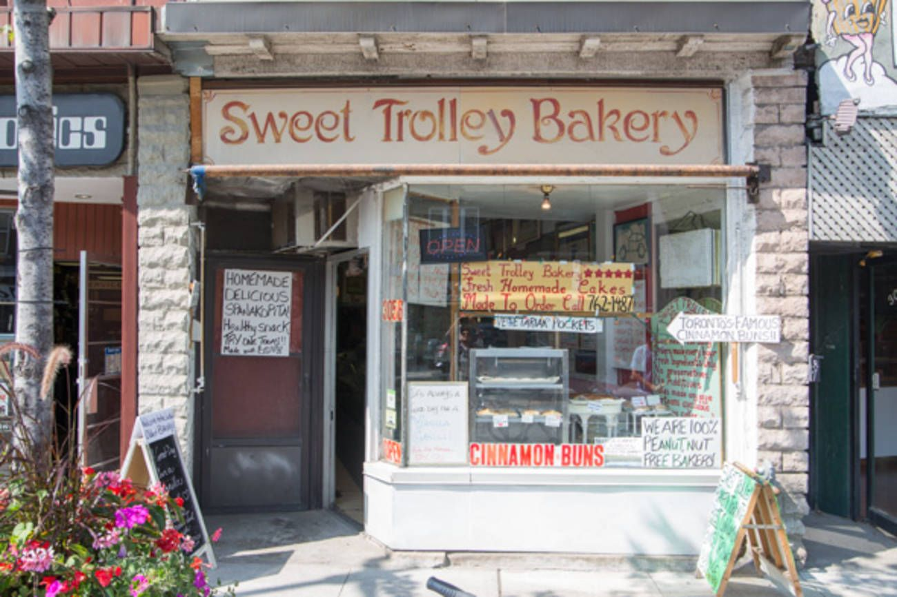 Sweet Trolley Bakery Has Been In The Junction For Decades Long Before Bunner S Showed Up Next Door For A While It Was Closed To Bakery Bakery Toronto Sweet