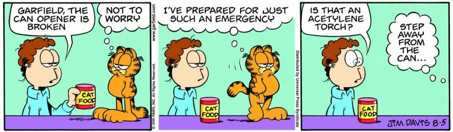 Garfield & Friends | The Garfield Daily Comic Strip for August 05th, 2006