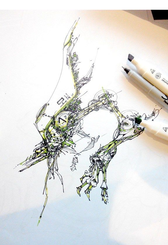 TIP 87 Get inspired from human or animals to draw concept art