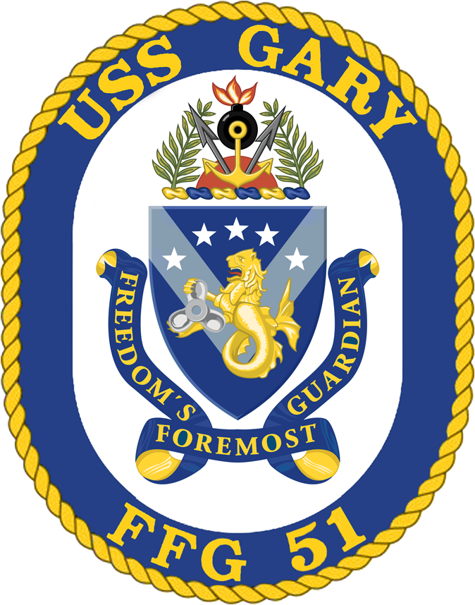 Uss Gary Ffg 51 Wikipedia With Images Navy Day Gary Badge