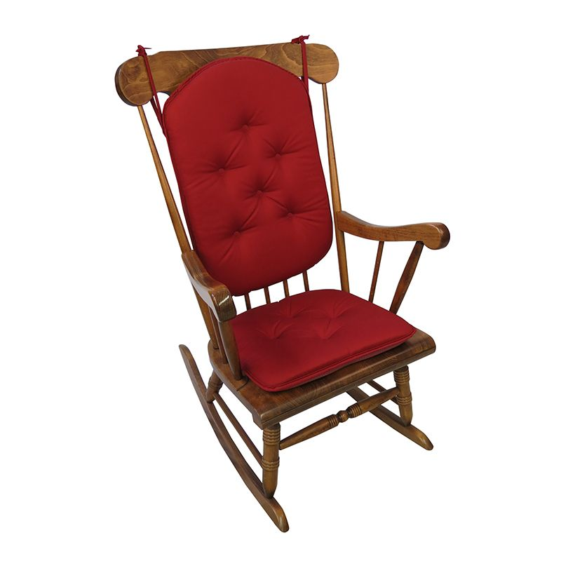 Rocking Chair Pad Set Stuhle Schaukelstuhl Und Kissen