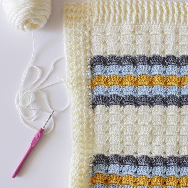 Crochet Boxed Black Stitch - Daisy Farm Crafts Instagram | crochet ...