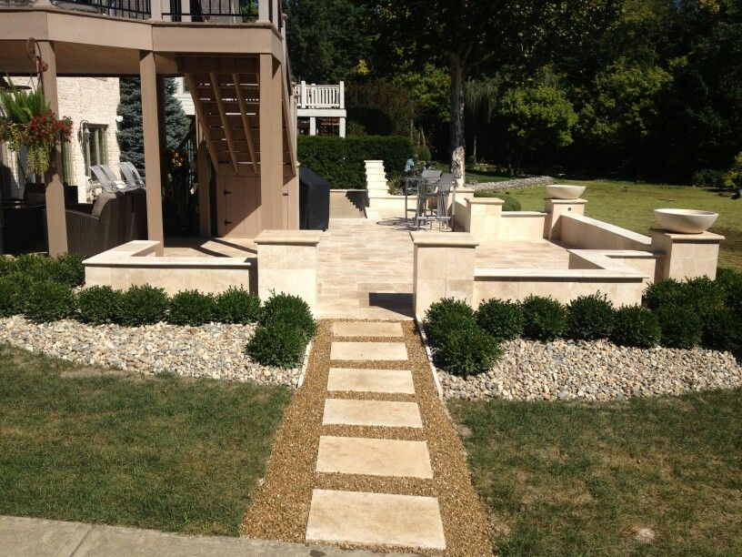 Travertine patio | Patio, Travertine patio, Outdoor living on Travertine Patio Ideas id=34043