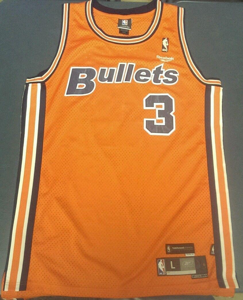 super popular 059c7 a72d4 Reebok Hardwood Classic 70' 71' Washington Bullets Orange ...
