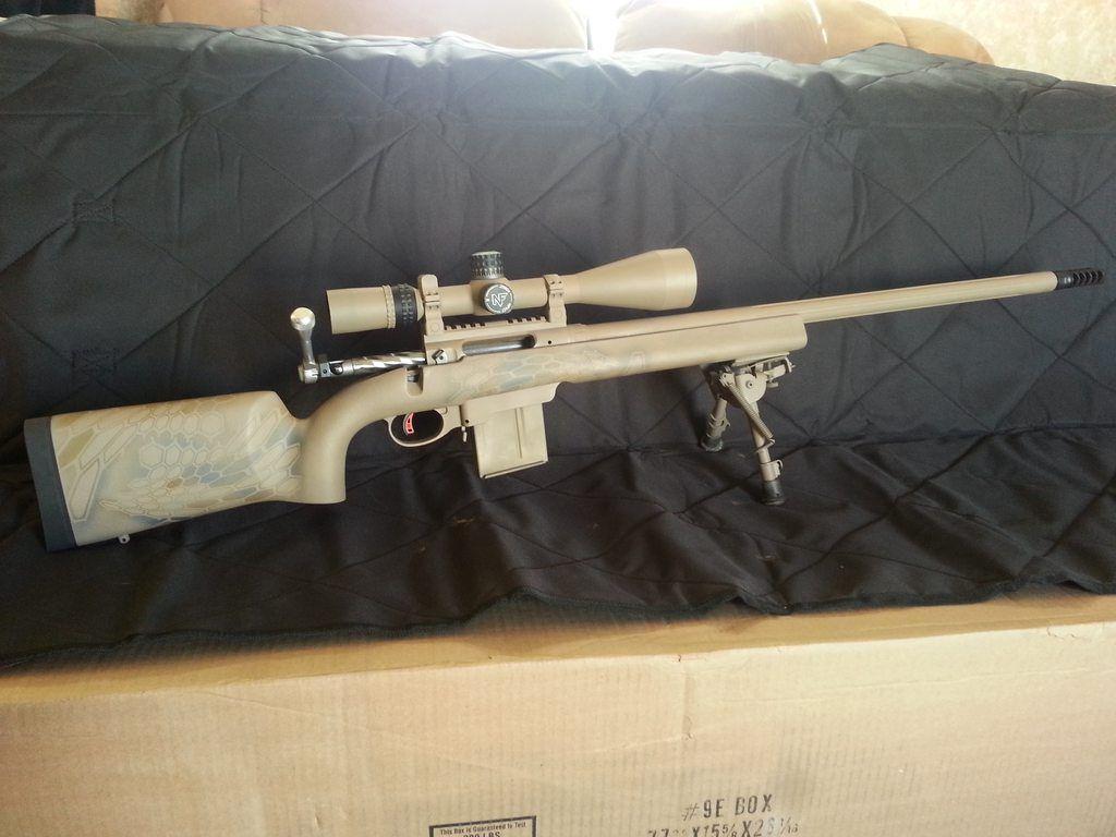 Custom savage 12 LRP 6 5 creedmoor   Gun love   Rifle