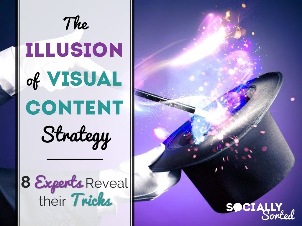 The Illusion Of Visual Content Strategy By Donna Moritz