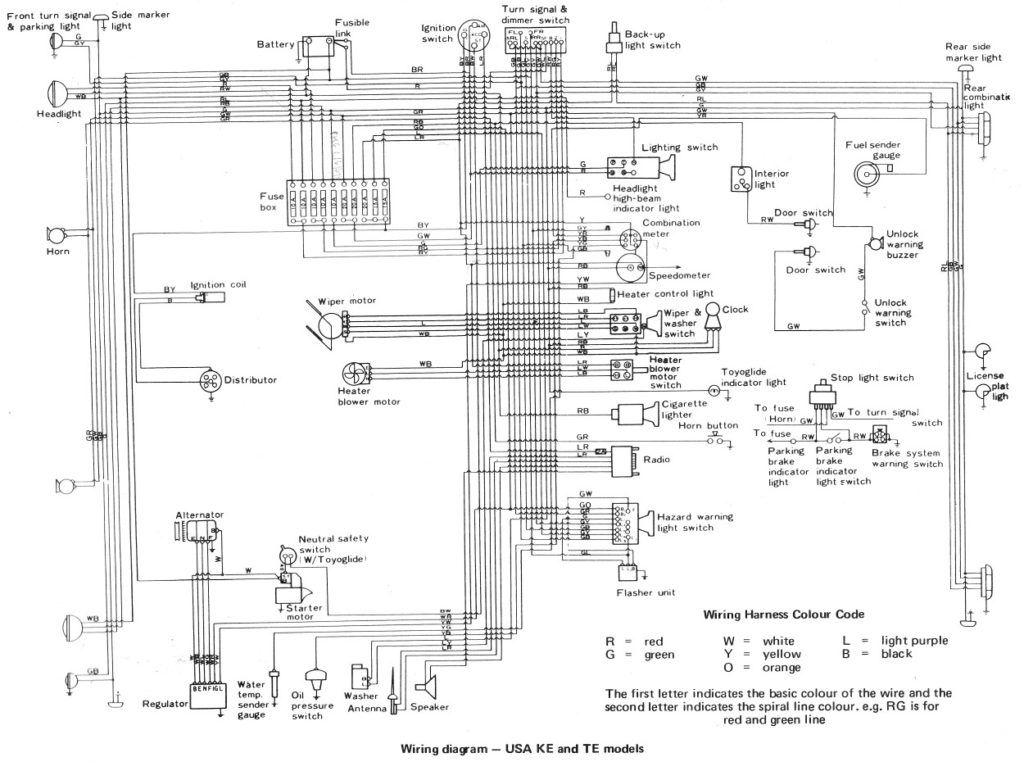 Wiring Diagram Free Toyota Diagrams Automotive In Simple