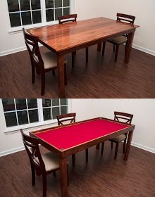 Gaming Table Plywood Cut To Your Size Felt Molding For The Sides Add Cup Holders On Outside
