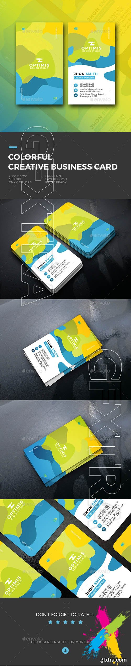 Gr colorful creative business card 20121184 gfxtra pinterest find this pin and more on gfxtra buy colorful creative business card reheart Images
