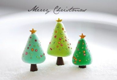 polymer clay christmas tree | Indesign Arts and Crafts | Nápady do ...