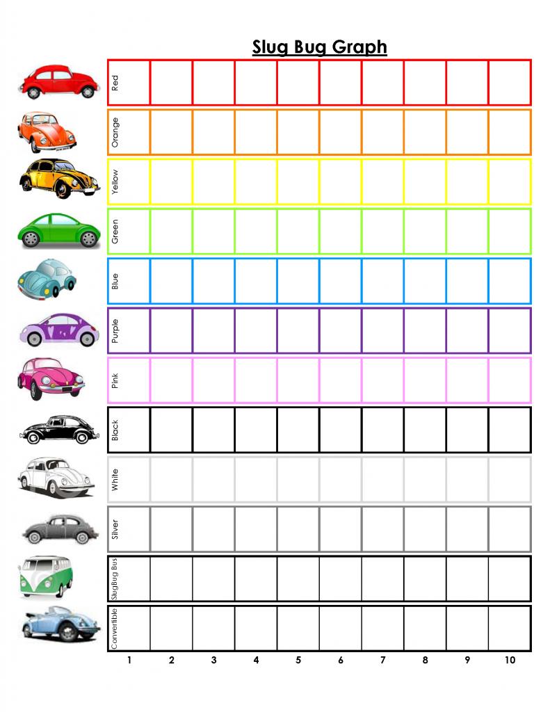 printable travel games - i spy cars, license plates, construction vehicles, etc.