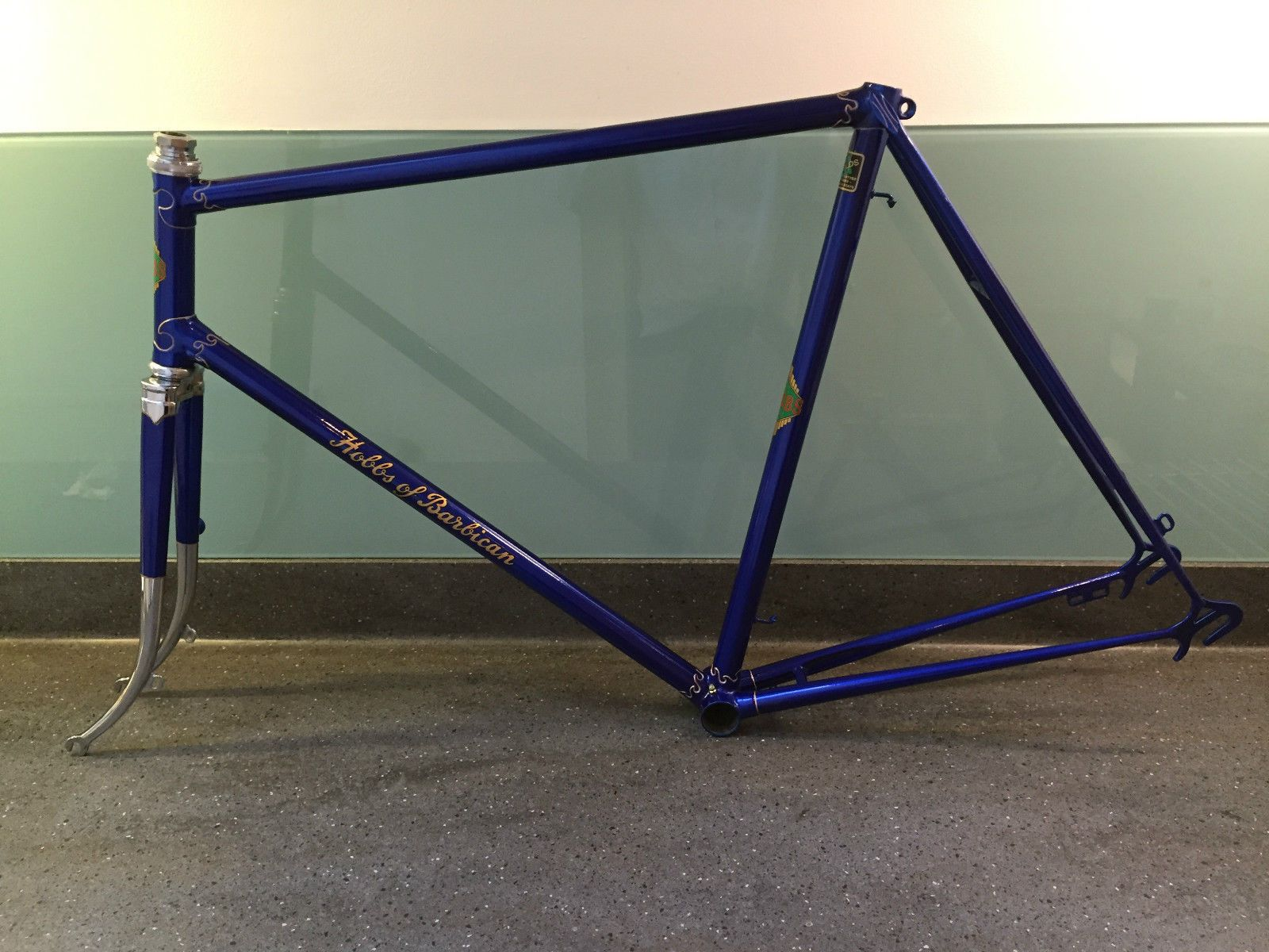 hobbs of barbican superbe vintage reynolds 531 road frame 1946 mint in sporting goods cycling bike frames ebay
